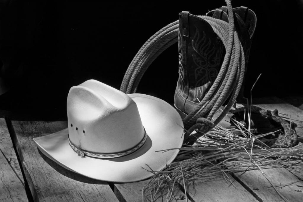 Maker: Doyle Gates Entered in: 2016 December Competition - A Prints Score: 40 points  1st PlaceJudge's comments: Great composition; tells a story; pretty lighting on the hat; tack sharpMaker's comments: