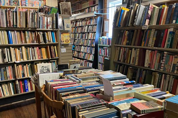 Books in the Driftless Bookstore